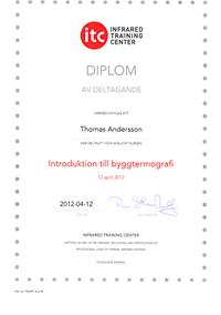 Diplom - Byggtermografi