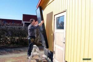 Montering av SolarVenti