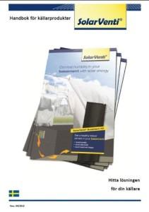 SolarVenti Handbok för källarprodukter