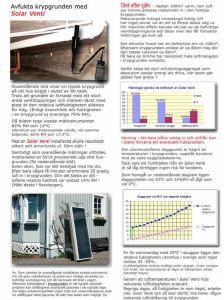 SolarVenti - avfuktning av krypgrund