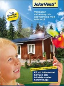 Broschyr SolarVenti för Fritidshus